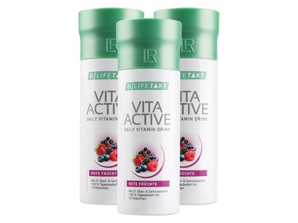 LR LIFETAKT Vita Active Red Série 3 ks